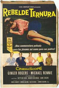 Teenage Rebel - 27 x 40 Movie Poster - Spanish Style A