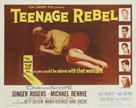 Teenage Rebel - 11 x 14 Movie Poster - Style A