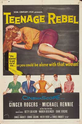 Teenage Rebel - 27 x 40 Movie Poster - Style A