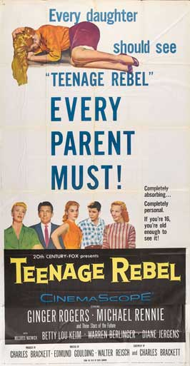 Teenage Rebel - 11 x 17 Movie Poster - Style C