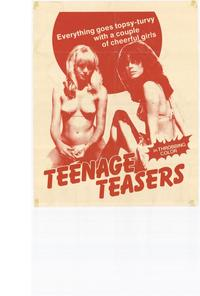 Teenage Teasers - 11 x 17 Movie Poster - Style A