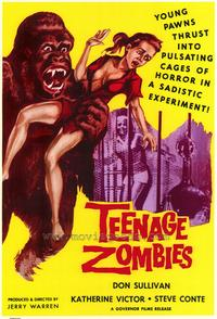 Teenage Zombies - 43 x 62 Movie Poster - Bus Shelter Style A