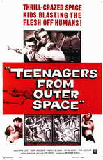 Teenagers from Outer Space - 11 x 17 Movie Poster - Style A