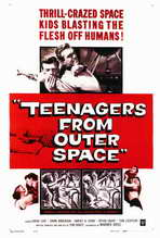 Teenagers from Outer Space - 27 x 40 Movie Poster - Style A