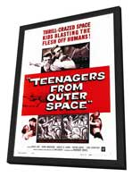 Teenagers from Outer Space - 27 x 40 Movie Poster - Style A - in Deluxe Wood Frame