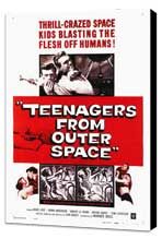 Teenagers from Outer Space - 27 x 40 Movie Poster - Style A - Museum Wrapped Canvas