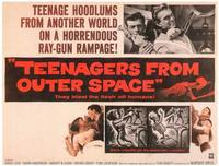 Teenagers from Outer Space - 11 x 14 Movie Poster - Style A