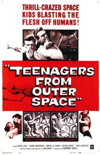 Teenagers from Outer Space - 43 x 62 Movie Poster - Bus Shelter Style A