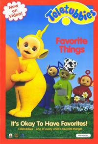 Teletubbies: Favorite Things - 11 x 17 Movie Poster - Style A