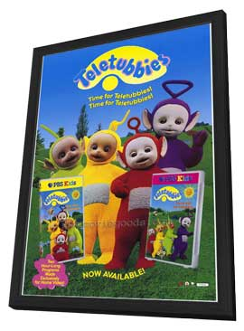 Teletubbies: Here Come the Teletubbies - 11 x 17 Movie Poster - Style A - in Deluxe Wood Frame