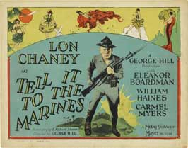 Tell It to the Marines - 22 x 28 Movie Poster - Half Sheet Style A