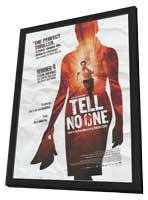 Tell No One - 11 x 17 Movie Poster - Style A - in Deluxe Wood Frame