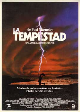The Tempest - 11 x 17 Movie Poster - Spanish Style A