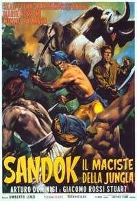 Temple of the White Elephant - 27 x 40 Movie Poster - Italian Style A
