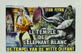 Temple of the White Elephant - 11 x 17 Movie Poster - Belgian Style A