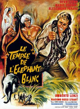 Temple of the White Elephant - 11 x 17 Movie Poster - French Style A