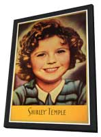 Shirley Temple - 11 x 17 Movie Poster - Style B - in Deluxe Wood Frame