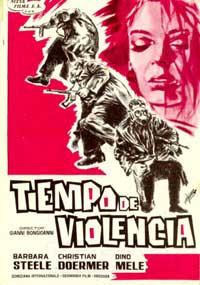 Tempo de Violencia - 11 x 17 Movie Poster - Spanish Style A