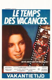 Temps des vacances, Le - 11 x 17 Movie Poster - Belgian Style A
