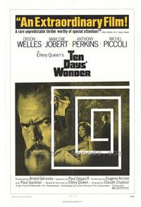 Ten Days Wonder - 27 x 40 Movie Poster - Style A