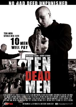 Ten Dead Men - 11 x 17 Movie Poster - UK Style A
