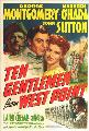Ten Gentlemen from West Point - 27 x 40 Movie Poster - Style A