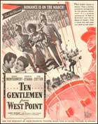 Ten Gentlemen from West Point - 11 x 17 Movie Poster - Style B