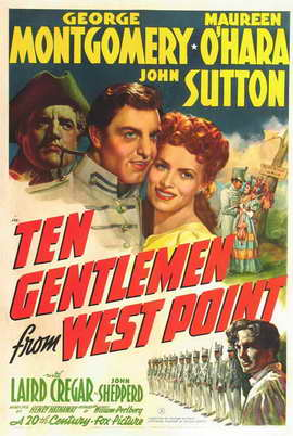 Ten Gentlemen from West Point - 11 x 17 Movie Poster - Style A