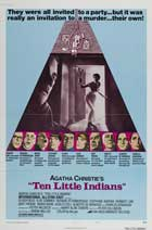 Ten Little Indians - 11 x 17 Movie Poster - Style B
