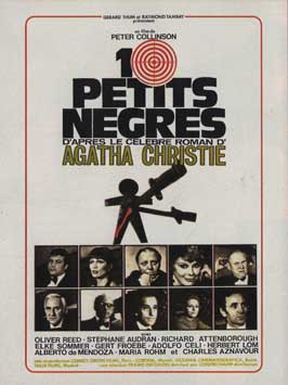 Ten Little Indians - 11 x 17 Movie Poster - French Style A