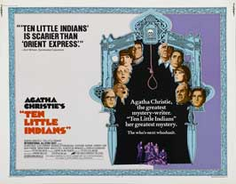 Ten Little Indians - 11 x 14 Movie Poster - Style G