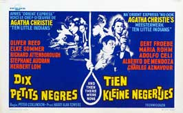 Ten Little Indians - 22 x 28 Movie Poster - German Style A
