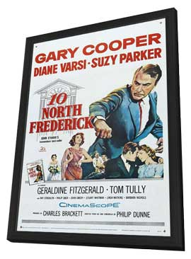 Ten North Frederick - 11 x 17 Movie Poster - Style A - in Deluxe Wood Frame