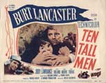 Ten Tall Men - 11 x 14 Movie Poster - Style A