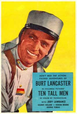 Ten Tall Men - 11 x 17 Movie Poster - Style B