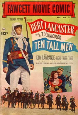 Ten Tall Men - 11 x 17 Movie Poster - Style A