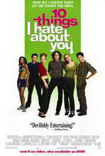 Ten Things I Hate About You - 27 x 40 Movie Poster - Style B