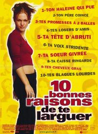 Ten Things I Hate About You - 11 x 17 Movie Poster - French Style A