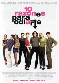 Ten Things I Hate About You - 11 x 17 Movie Poster - Spanish Style A