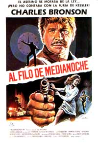 Ten to Midnight - 11 x 17 Movie Poster - Spanish Style A