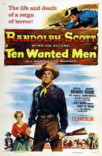 Ten Wanted Men - 27 x 40 Movie Poster - Style A
