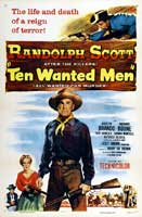 Ten Wanted Men - 11 x 17 Movie Poster - Style A