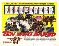 Ten Who Dared - 22 x 28 Movie Poster - Half Sheet Style A