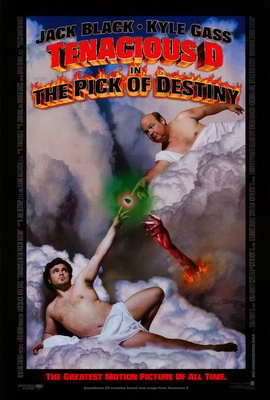 Tenacious D in The Pick of Destiny - 11 x 17 Movie Poster - Style A