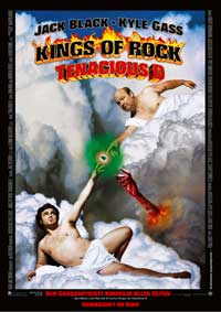 Tenacious D in The Pick of Destiny - 11 x 17 Movie Poster - German Style A
