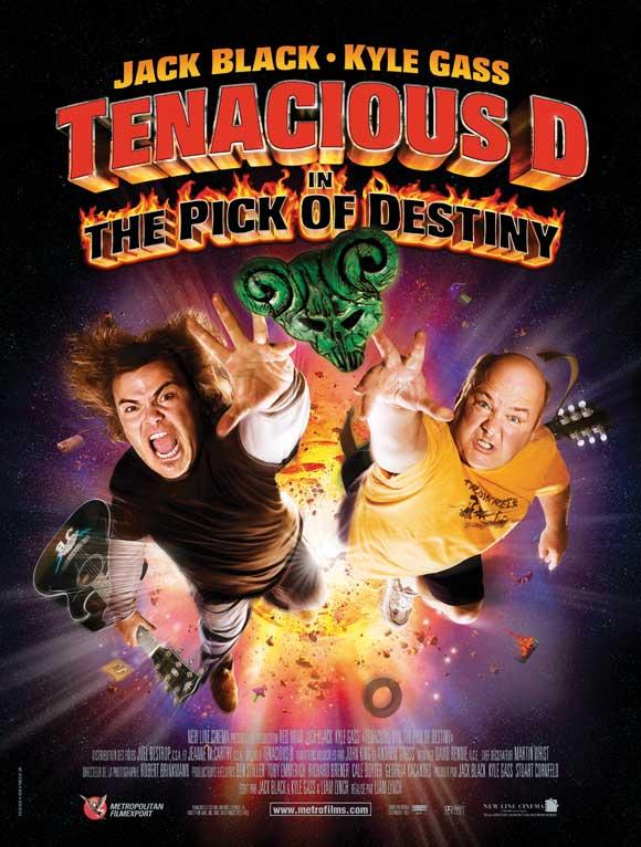 Tenacious D in The Pick of Destiny Movie Posters From ... Tenacious D Pick Of Destiny Poster