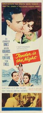 Tender is the Night - 14 x 36 Movie Poster - Insert Style A