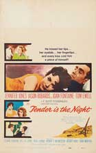 Tender is the Night - 11 x 17 Movie Poster - Style C