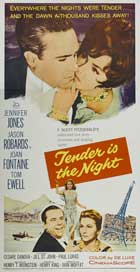 Tender is the Night - 20 x 40 Movie Poster - Style A