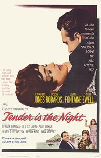 Tender is the Night - 27 x 40 Movie Poster - Style A